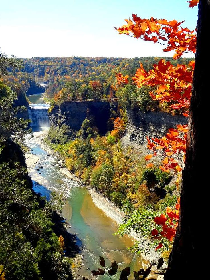 The Grand Cayon of the East! Letchworth State Park, NY, USA | Hole Stories