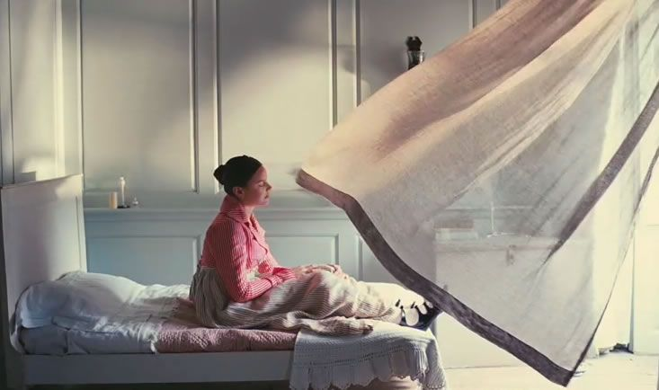 Bright Star (2009, Jane Campion). Production Design Janet Patterson. Art Direction Christian Huband. Set Decoration Charlotte Watts.