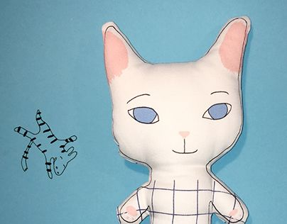"""Check out new work on my @Behance portfolio: """"CATSY CAT"""" http://be.net/gallery/49805869/CATSY-CAT"""