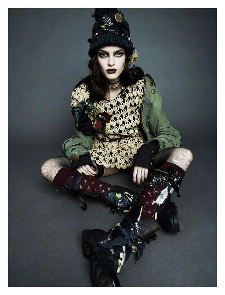 Bowery Girl editorial from Numéro #144 - so damn good