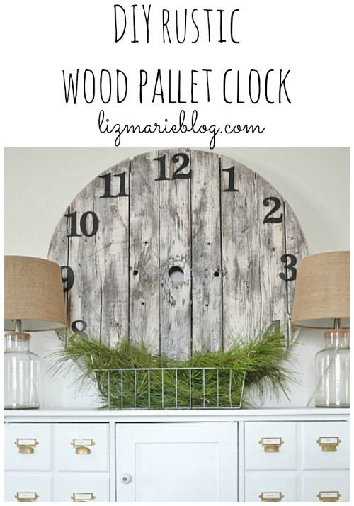 Here are some GREAT ways to DIY yourown wall clockby some of the best DIY bloggers on the web!