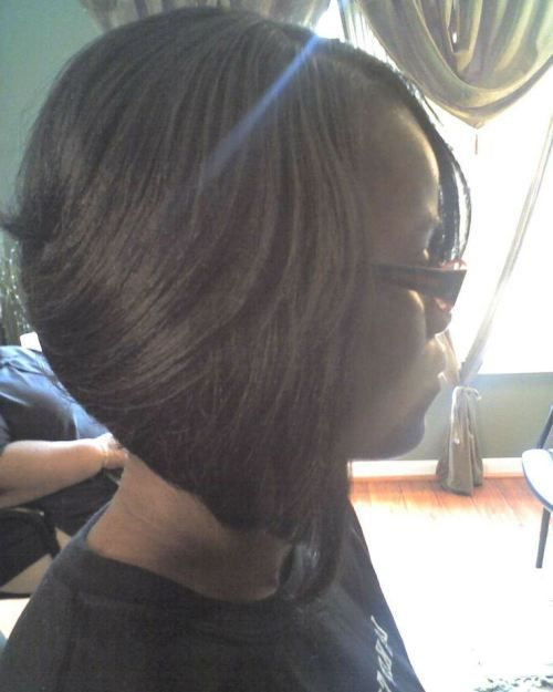 Bob hairstyle for african american hair