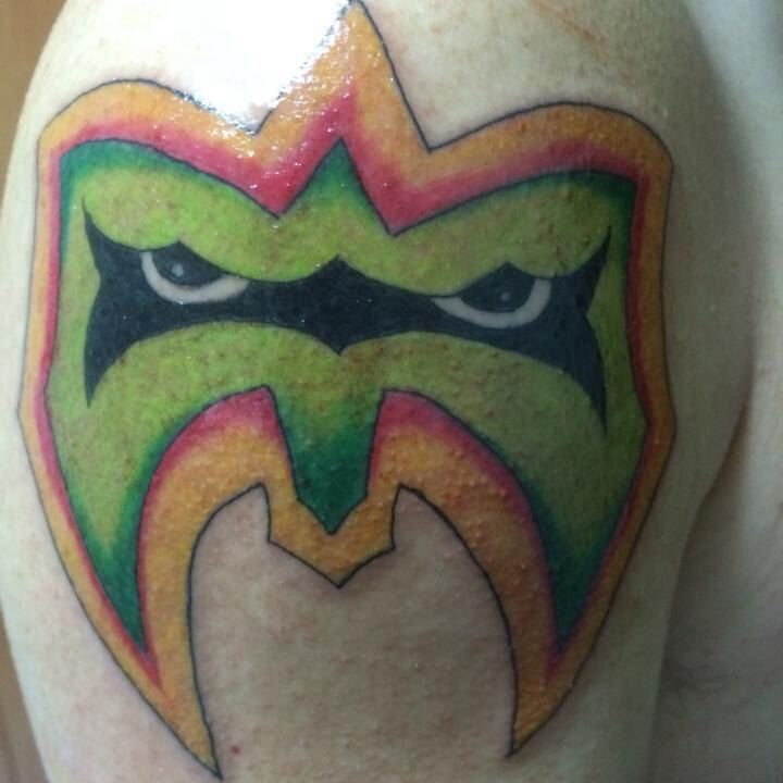 Ultimate Warrior Tattoo Ultimate warrior tattooUltimate Warrior Symbol Tattoo