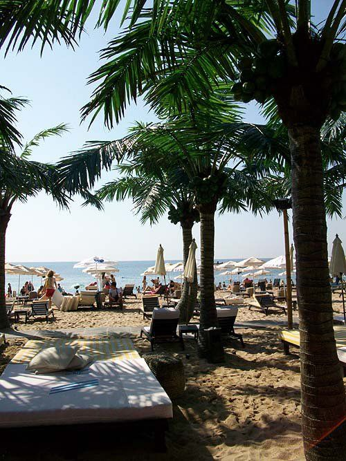 Varna, Bulgaria - Rappongi beach.  Spent a week in Bulgaria complements of the Navy.