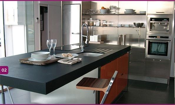 35 best images about cuisines plan de travail c ramique on pinterest for Plan de travail cuisine en ceramique