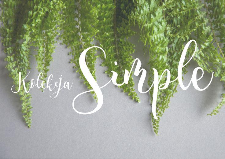 zestaw simple zapowiedź wedding invitations miodunka papeteria ślubna Koszalin stationery zaproszenia ślubne papeteria elegant