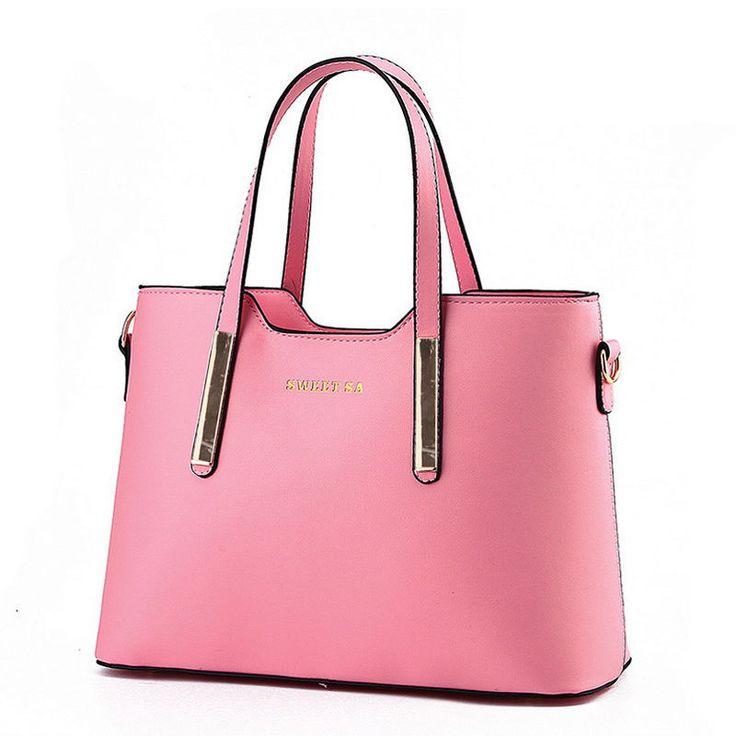 Sacs à Main New Fashion Simple Elegance Retro Bag Sac à Bandoulière,LightPink