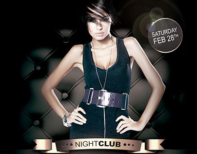 night club flyers templates