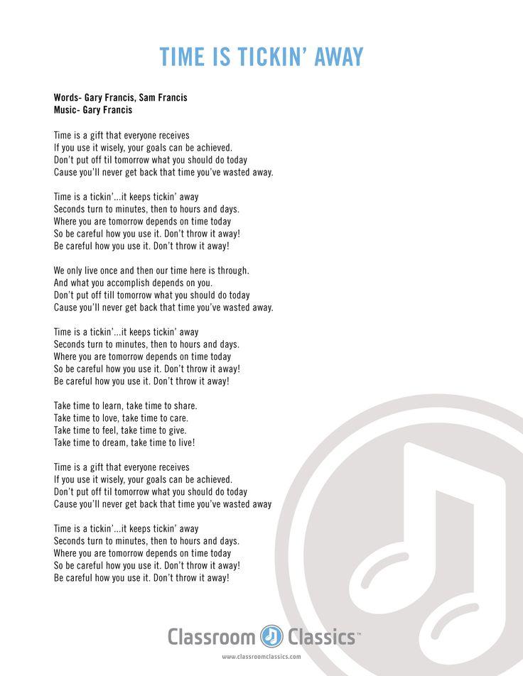 Lyric lyrics for : 26 best Songs with Lyrics for Kids images on Pinterest | Preschool ...