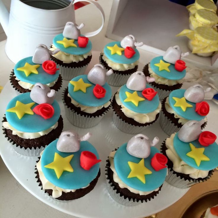 Little prince cupcakes