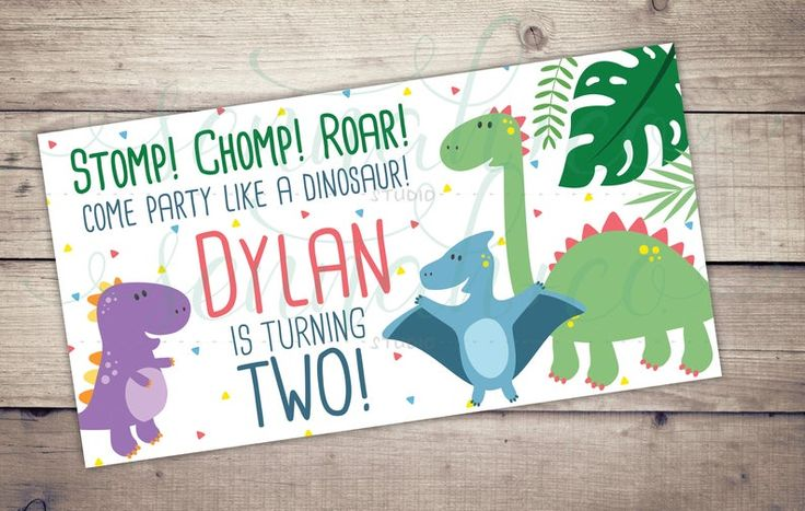 Facebook Custom Event Cover Timeline Cover Dinosaur Etsy