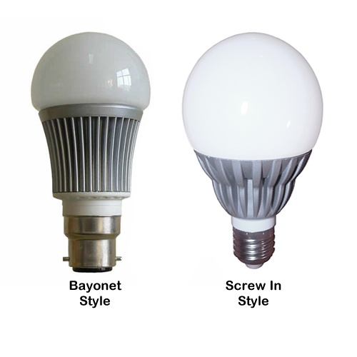 Dimmable 5w LED Bulb White  Avaliable in B22 & E27