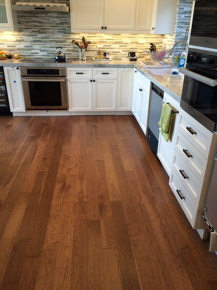 hickory toffee hardwood flooring wood floor kitchen grey kitchen designs hardwood floor colors on kitchen flooring ideas id=27418