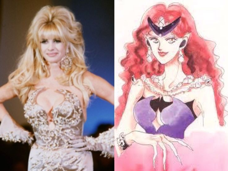 """Thierry Mugler 1992 designer inspiration fashion for Queen Beryl's gown in """"Sailor Moon"""" anime and manga series."""