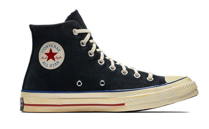 d4c70660b22 Converse Chuck Taylor All Star  70 Vintage  36 Canvas black blue red ...