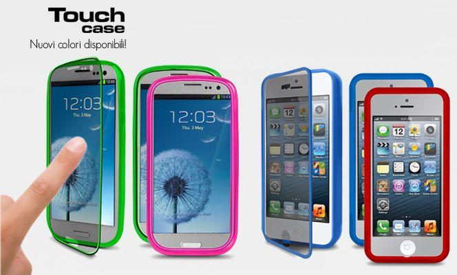I nuovi colori per le nostre Touch case! Colora e proteggi il tuo Galaxy S III o iPhone 5 http://www.sbsmobile.it/search.htm?str_src=TETOUCH=0=0  The new color for our Touch case! Color and protects your Galaxy S III or iPhone 5 http://www.sbsmobile.com/search.htm?str_src=TETOUCH