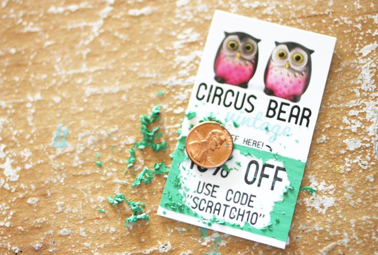 DIY scratch off cards! this would be great for a coupon book idea for mom, dad, or even the boyfriend! <3