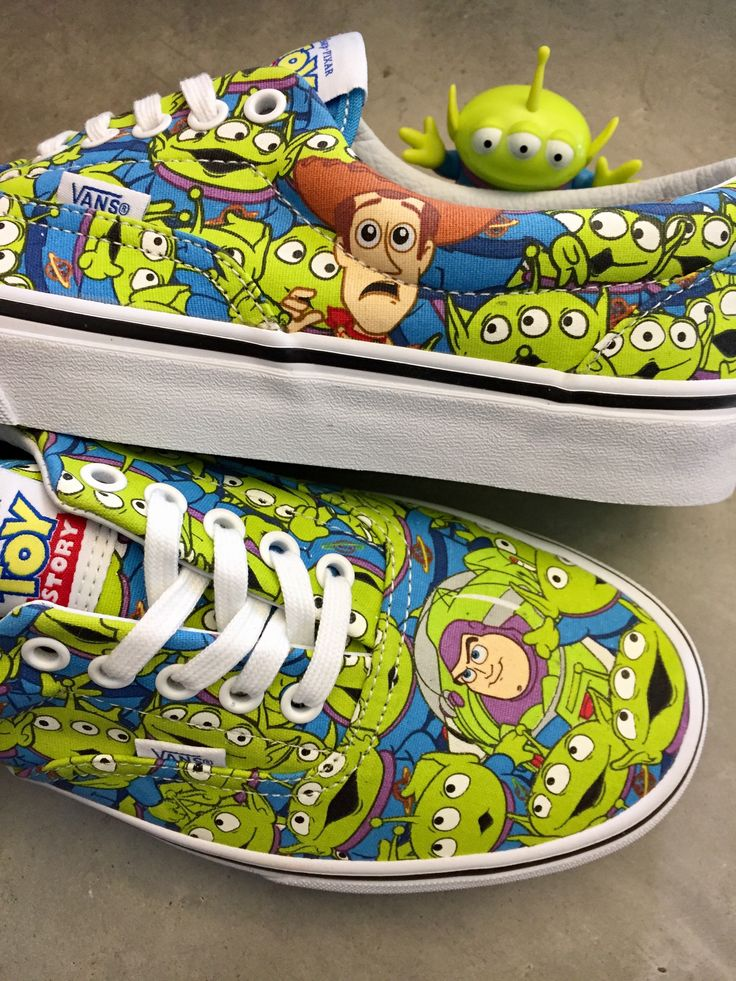 They glow in the dark! || Vans x Toy Story