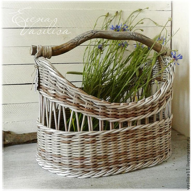 285 Best Wicker Willow And Baskets Images On Pinterest