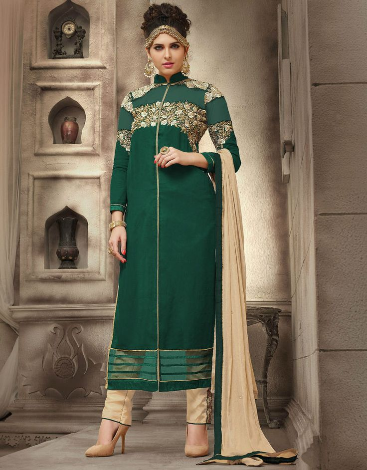 Designer Anarkali Salwar Kameez Suit Traditional Pakistani Indian Bollywood #NA #SalwarKameez