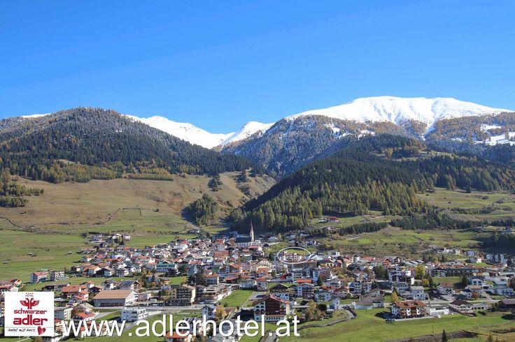 Das Hotel Adler liegt nahe an der Grenze zu Italien und der Schweiz