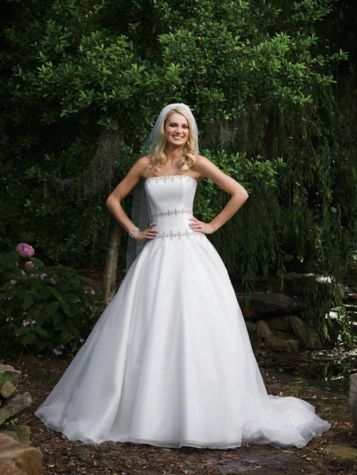 Pretty ball gown natural waist organza wedding dress: Dresses Wedding, Wedding Dressses, Bodice Wedding Dress, Organza Wedding Dresses, Ball Gowns, Weddings, Dresses Design, Bridal Gowns, Hands Beads
