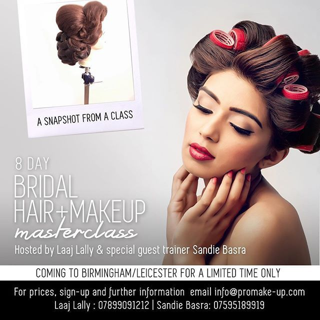 By Sandiebasra Pro Make Up London Are Now Offering A Special Spring Offer With Huge Demand New Dates For Sp Bridal Hair And Makeup Up Hairstyles Hair Makeup