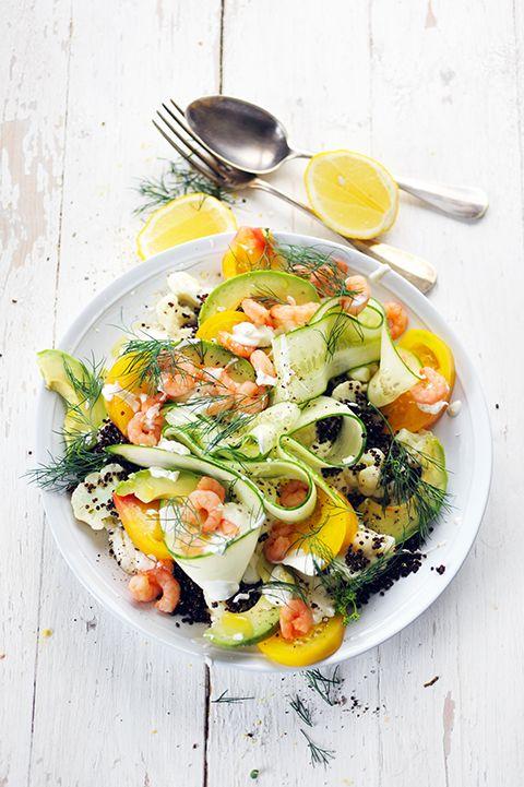 Salade fraîcheur presque suédoise...
