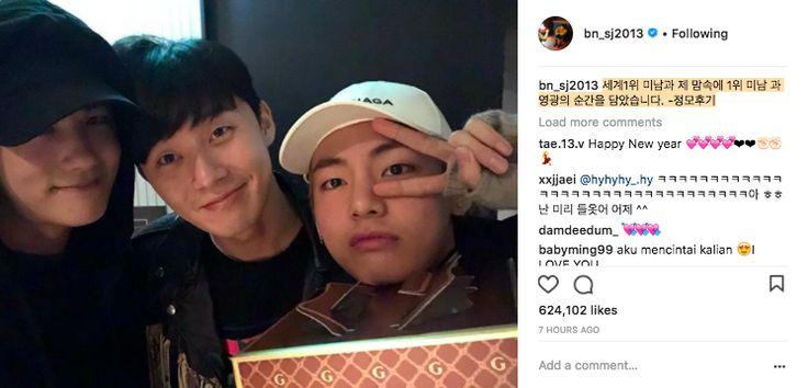 Sao Hàn mừng năm mới 2018: Vợ chồng Song Song rạng rỡ, Big Bang, Wanna One bận rộn đi diễn, Jessica sang hẳn Trung Quốc - Ảnh 20.
