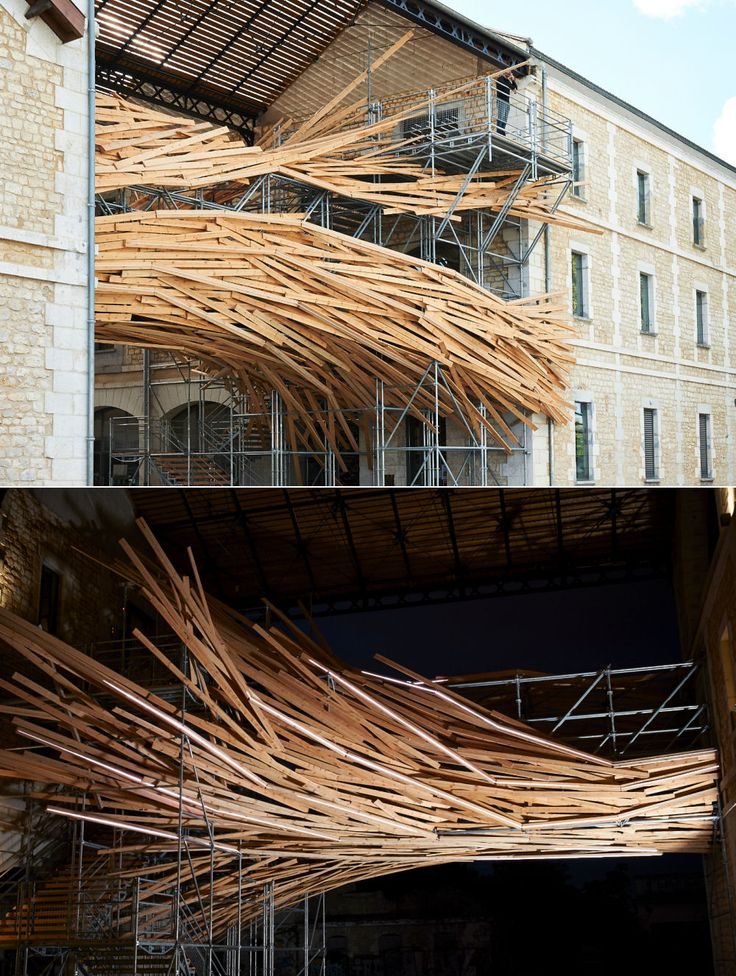 http://backstage.worldarchitecturenews.com/index.php?fuseaction=wanappln.projectview&upload_id=25092  1024 Architecture has completed an animated sculpture at the Darwin Ecosystem Project in Bordeaux, France, blending organic materials with the latest technology to create a dynamic feature for this sustainable business hub.