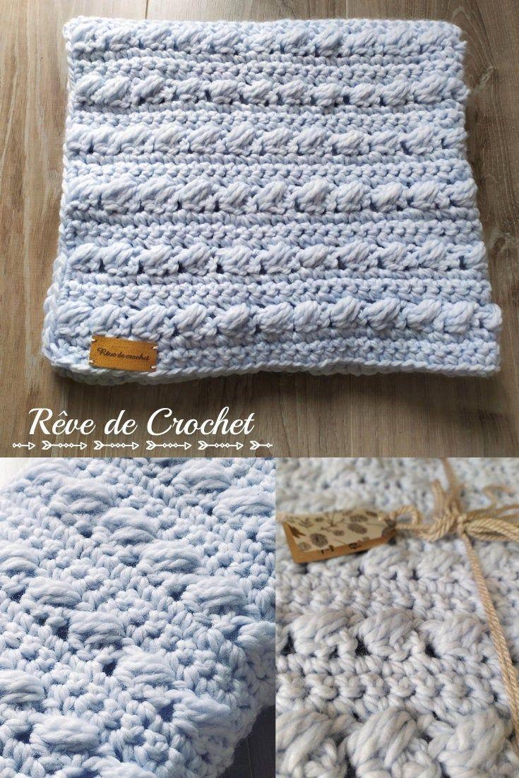 Idee Cadeau Noel Bebe Baby boy cover / Plaid cradle / Christmas gift idea / Baby