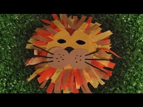 Carnival custome, how to make a nice lion mask