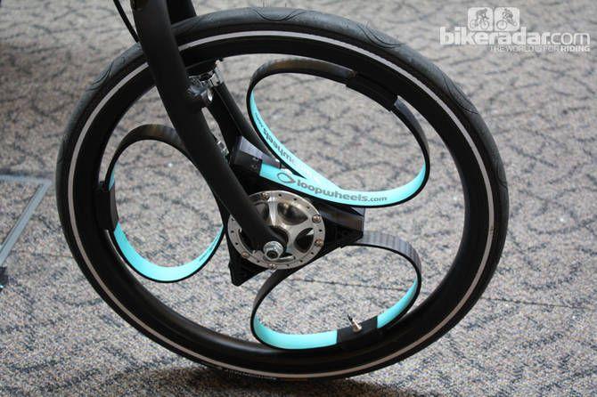 Loopwheels spokeless suspension wheel on show