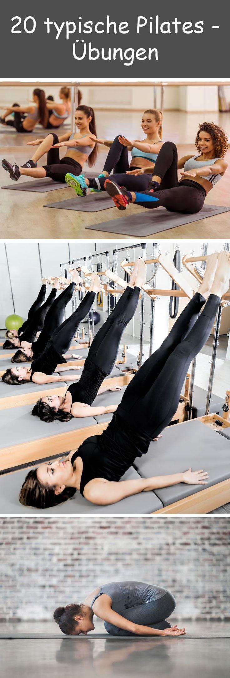 20 Pilates-Übungen zum Nachturnen