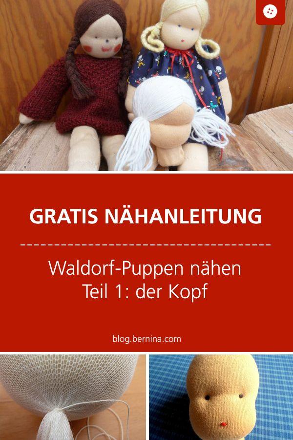 Puppen nach Waldorfart nähen - Anleitung, Teil 1