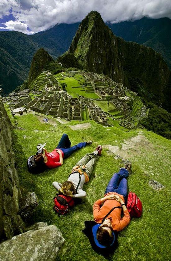 Peru. I need to go to Macchu Picchu