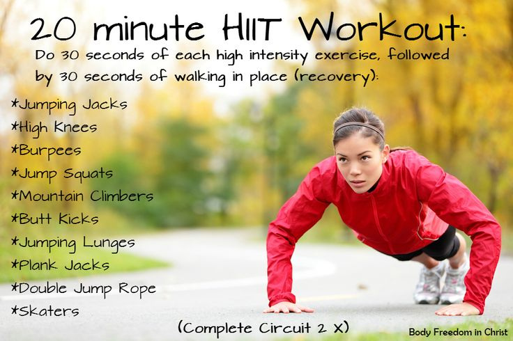 High Intensity Interval Training has so many benefits including fat burn! to me if i did this every day, i would be good. this is a great way to do cardio endurance exercising to me.