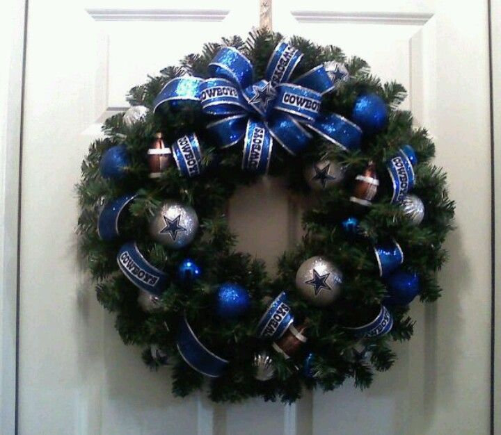 1000+ Ideas About Dallas Cowboys Wreath On Pinterest