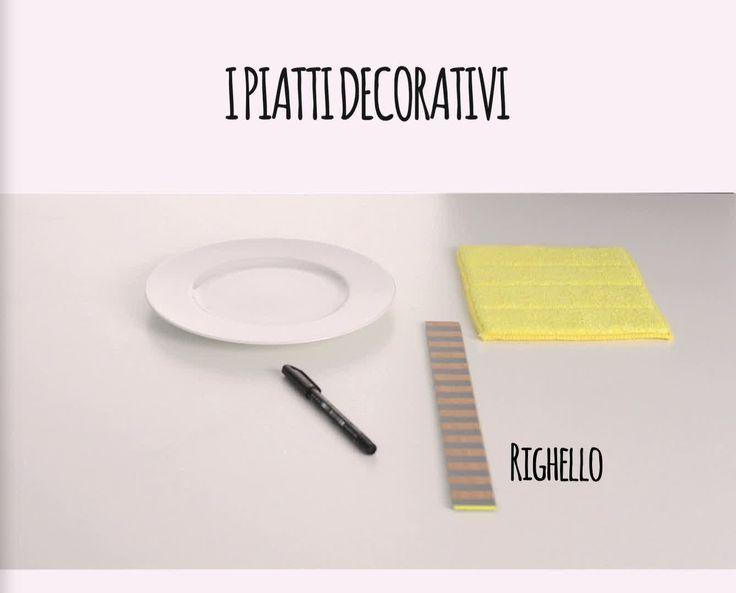 Crea con noi i piatti da parete con il 'lettering': sono l'ultima novità décor!  video Marco Tazzi styling Elisabetta Viganò foto Andrea Baguzzi