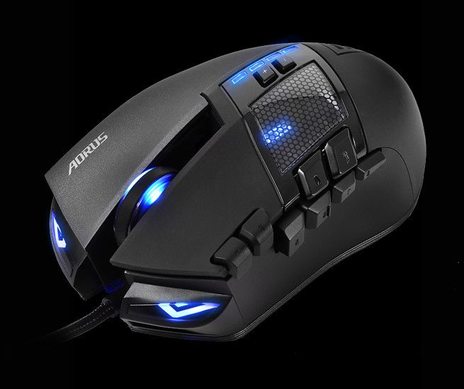 AORUS Releases the THUNDER M7 MMO Gaming Mouse | techPowerUp