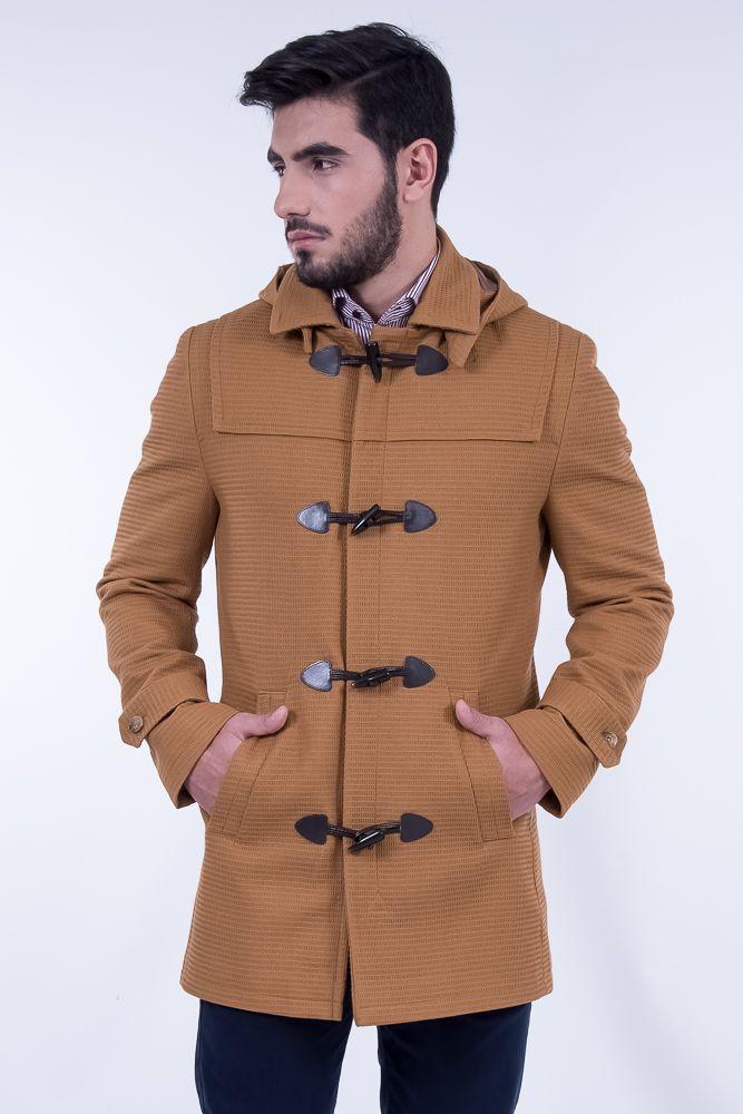 Montgomery Coat In Camel