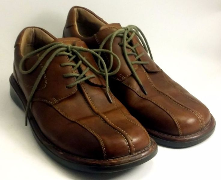 "LONDON UNDERGROUND Shoes ~ Men's ""Report"" Brown Leather Shoes ~ US 10 M #LondonUnderground #Oxfords"