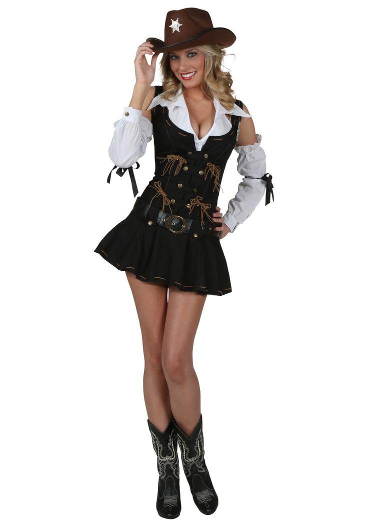 Sexy Wild West Sheriff Costume