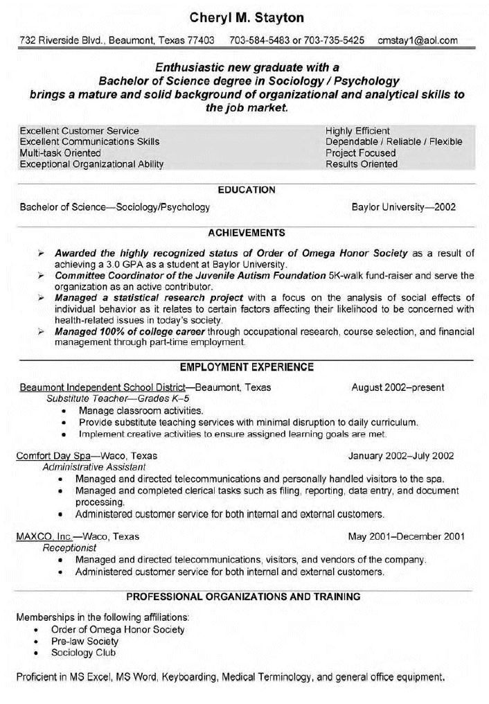printable resume for substitute teacher position enthusiastic new samples amp writing guide genius