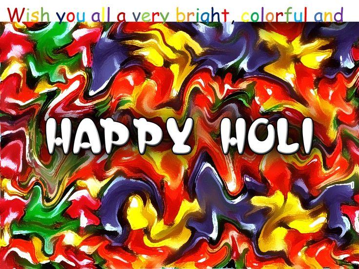 #Galicha  wish you a very #HappyHoli.