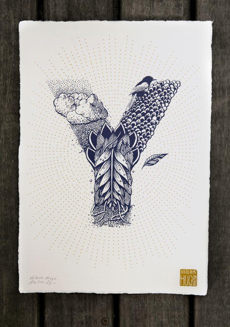 Valérie Hugo - Alphabet Illustré