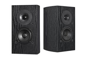 7. Pioneer SP-BS22-LR Andrew Jones Designed Bookshelf Loudspeakers