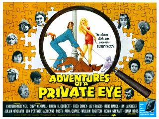 adventures of a private eye classic british comedy movie