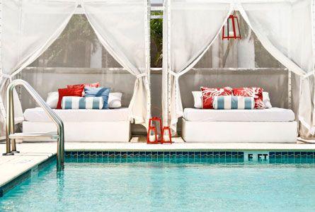 having a Cabana at home would be so cool, whatcha think @Amanda Siegel?
