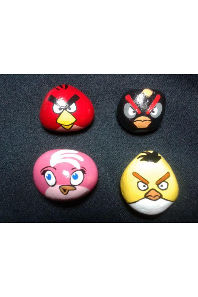 Angry Birds stones